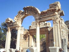 ephesus tours turkey - hadrian's gate