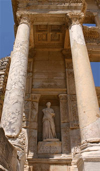 ephesus tours celsus library