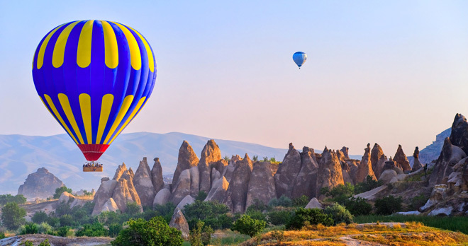 Day Trips from Istanbul to Cappadocia by flight | one day trip